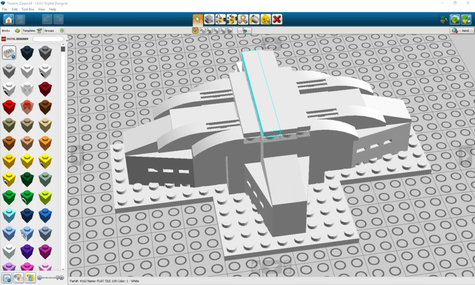 Tutorial: Concept Design with LEGO Architecture Studio, LDD Digital