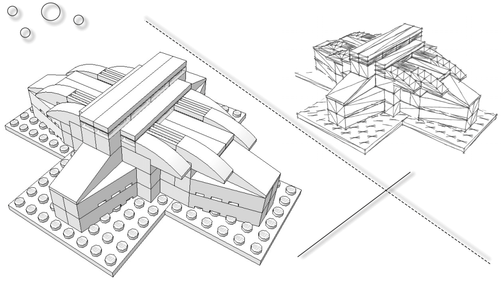 Tutorial: Concept Design with LEGO Architecture Studio, LDD