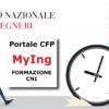 Formazione Continua Ingegneri: App MyIng Android e scadenza Autocertificazione 15 CFP dei Crediti Formativi Professionali